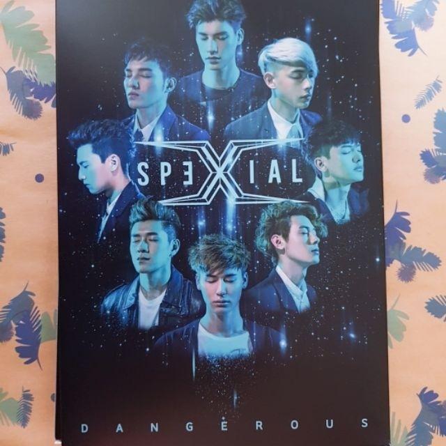 SpeXial Dangerous  貼身預購版 專輯 親簽  宏正 偉晉 晨翔 Teddy Evan 以綸 風田 易恩