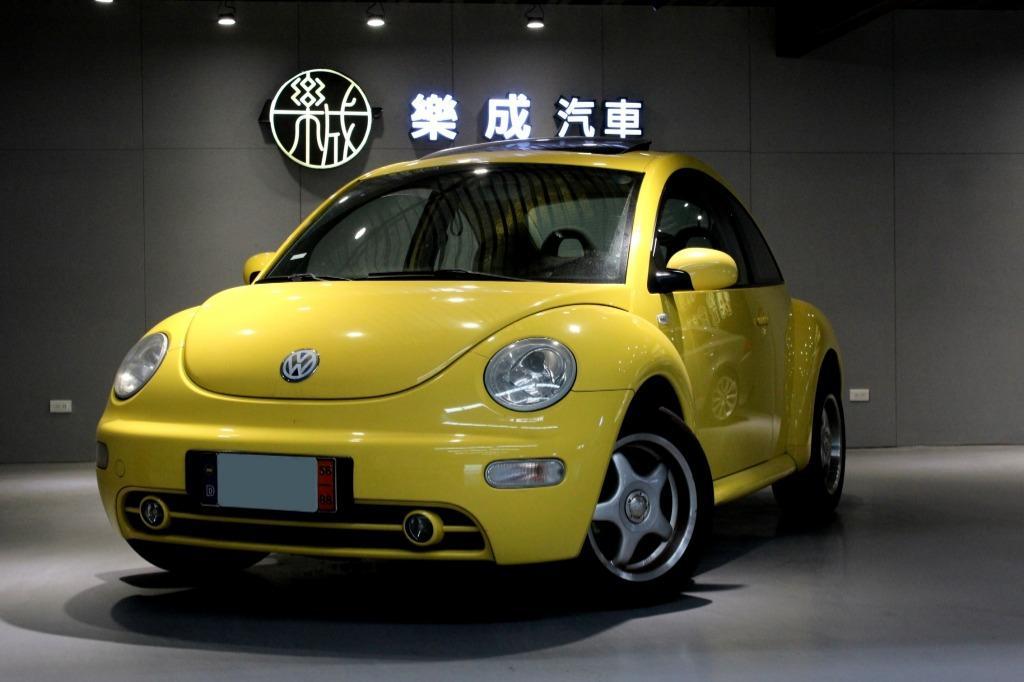 2002年 VW Beetle 金龜車 1.6汽油 一手女用車,全原鈑件!僅跑11萬,內外皆美!