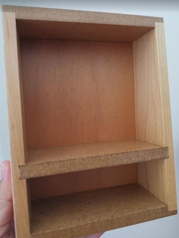 【芭爸時尚生活館】生活工場 置物盒 木製 木盒 2層收納盒