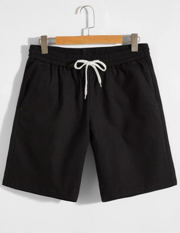 BNWT Men Drawstring Waist Slant Pocket Shorts