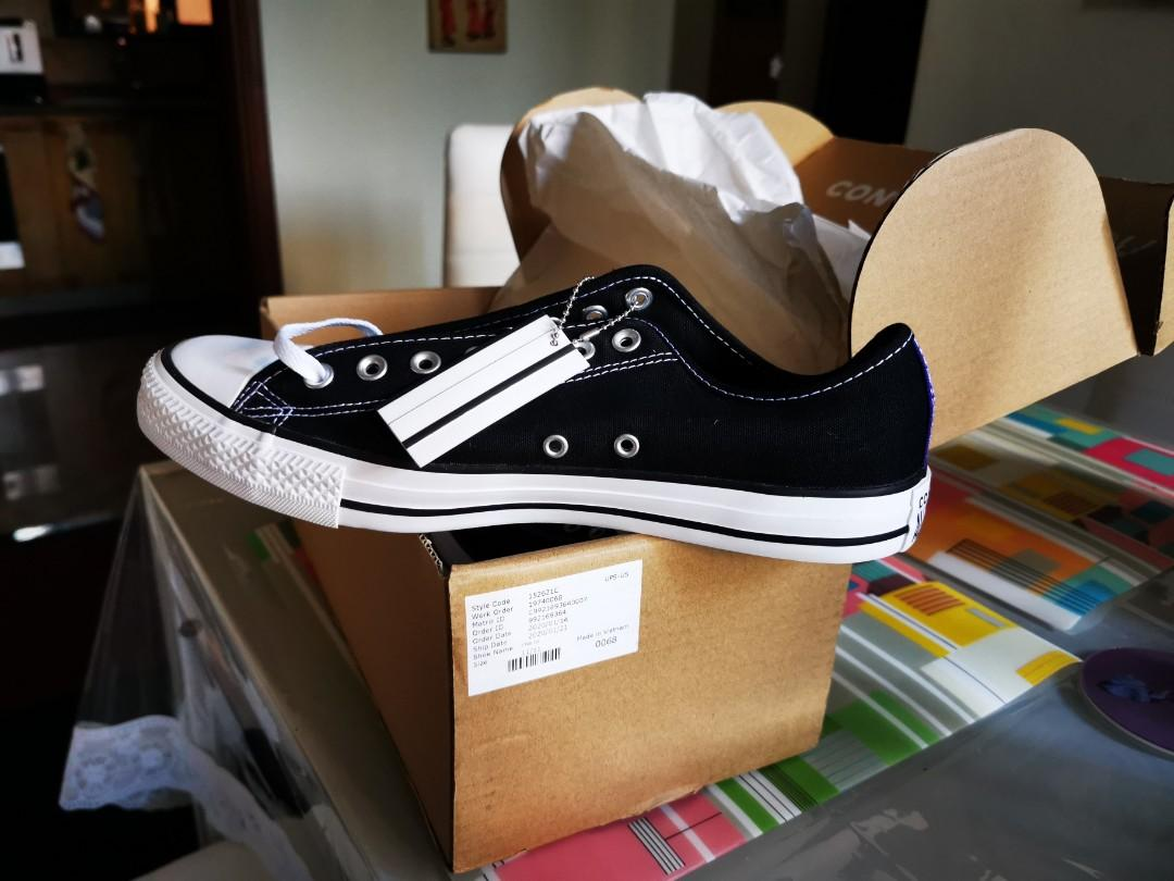 Converse black, Men's Fashion, Footwear