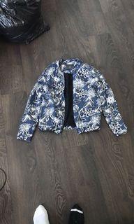 Floral Bomber Jacket S