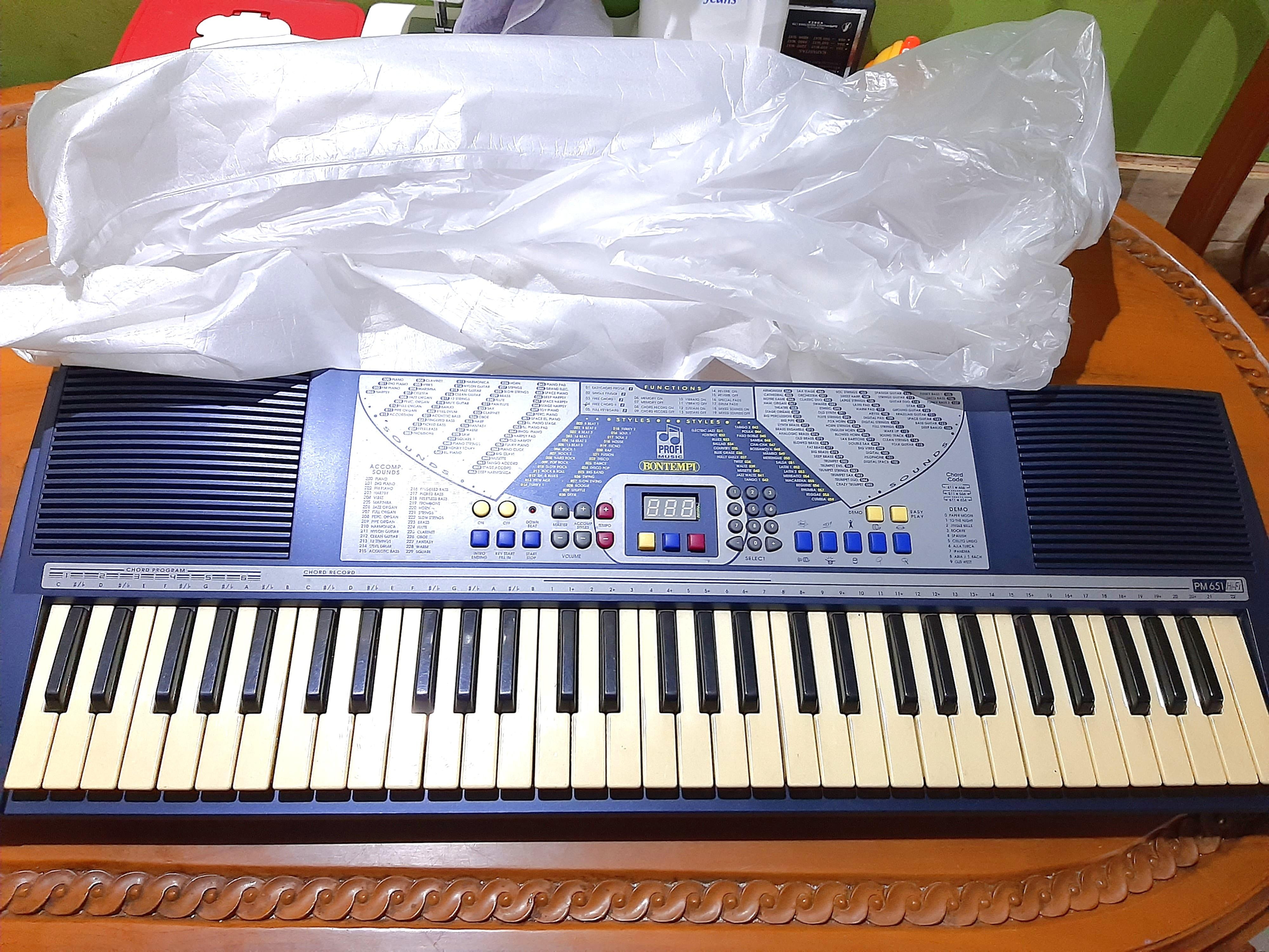 Keyboard, Piano