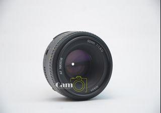 Lensa Nikon Nikkor AF 50mm f1.8 D Black