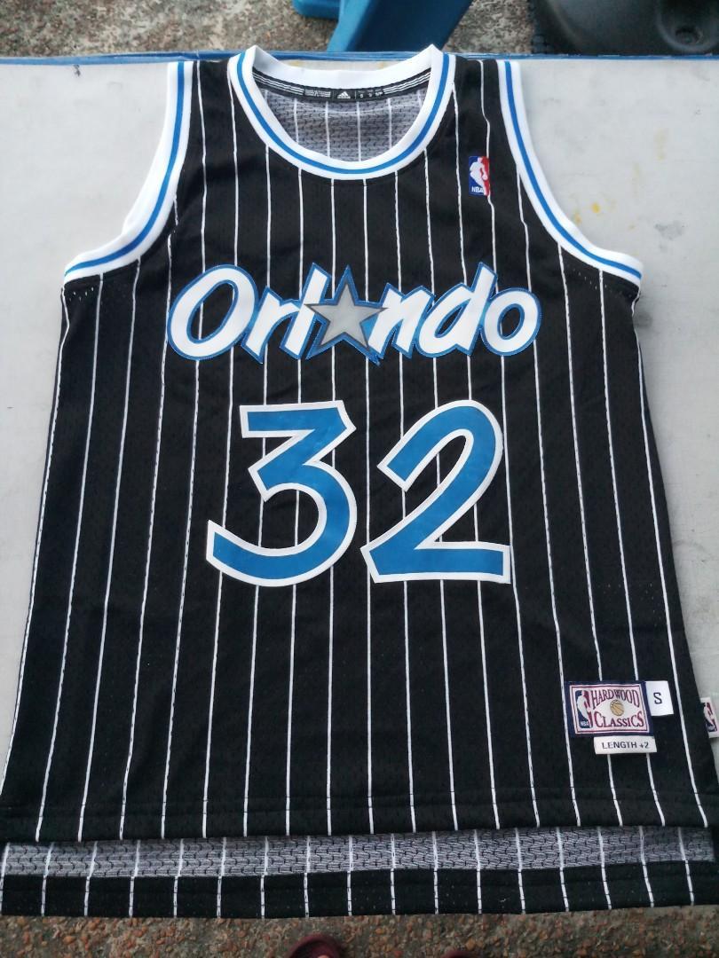 NBA shaquille oneal orlando magic jersey adidas hardwood classic ...