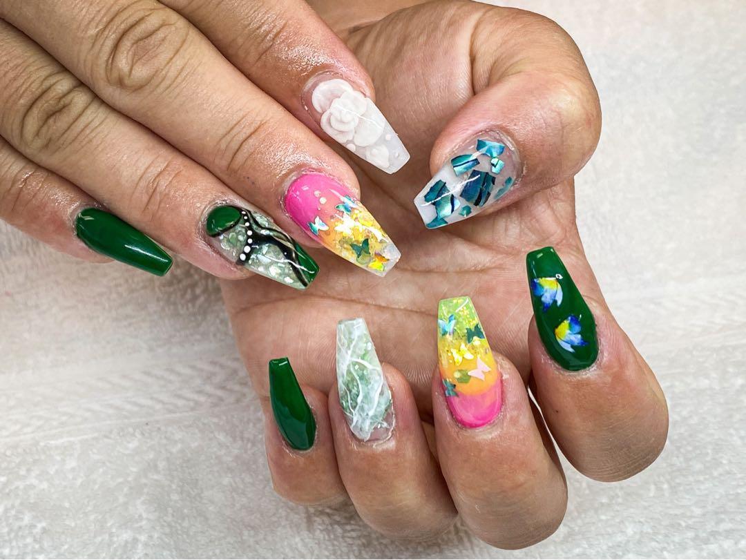 Nice design nails