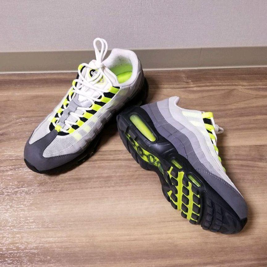 Nike Air Max 95 Neon Men S Fashion Footwear Sneakers On Carousell