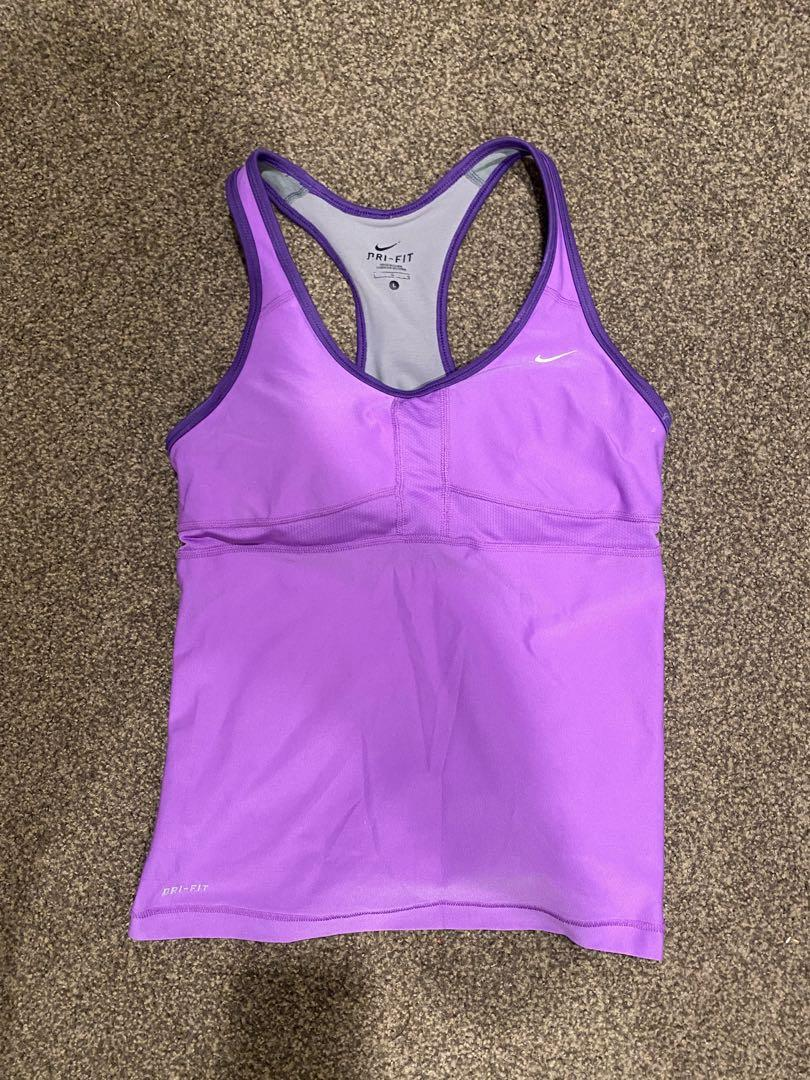 Nike running top size L