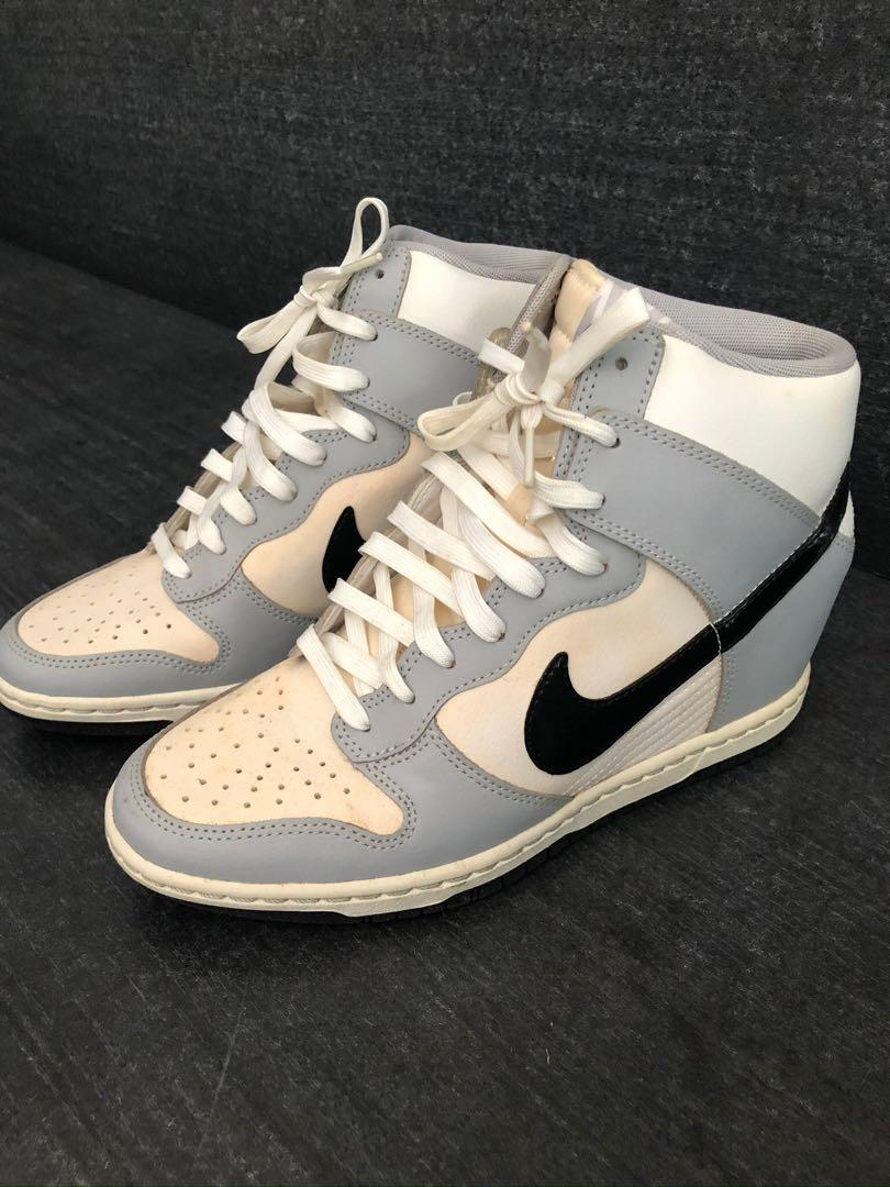 Nike wedge sneakers, Women's Fashion