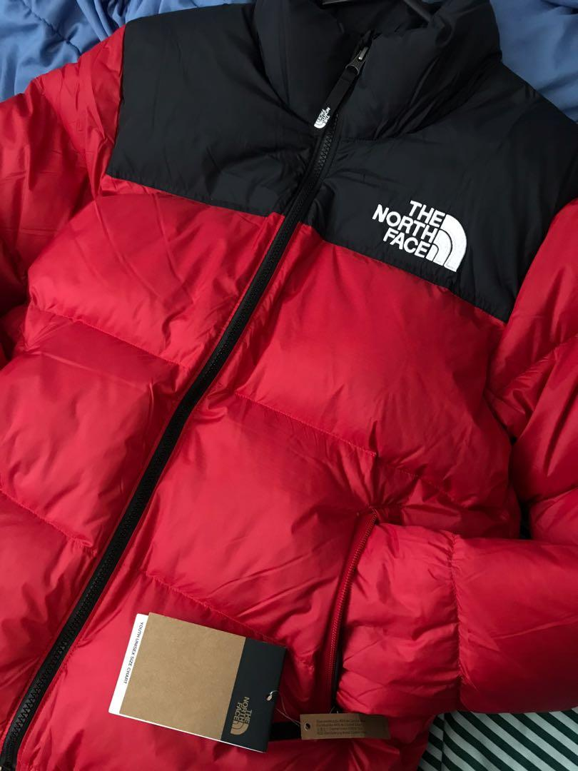 The North Face Red Nuptse Jacket