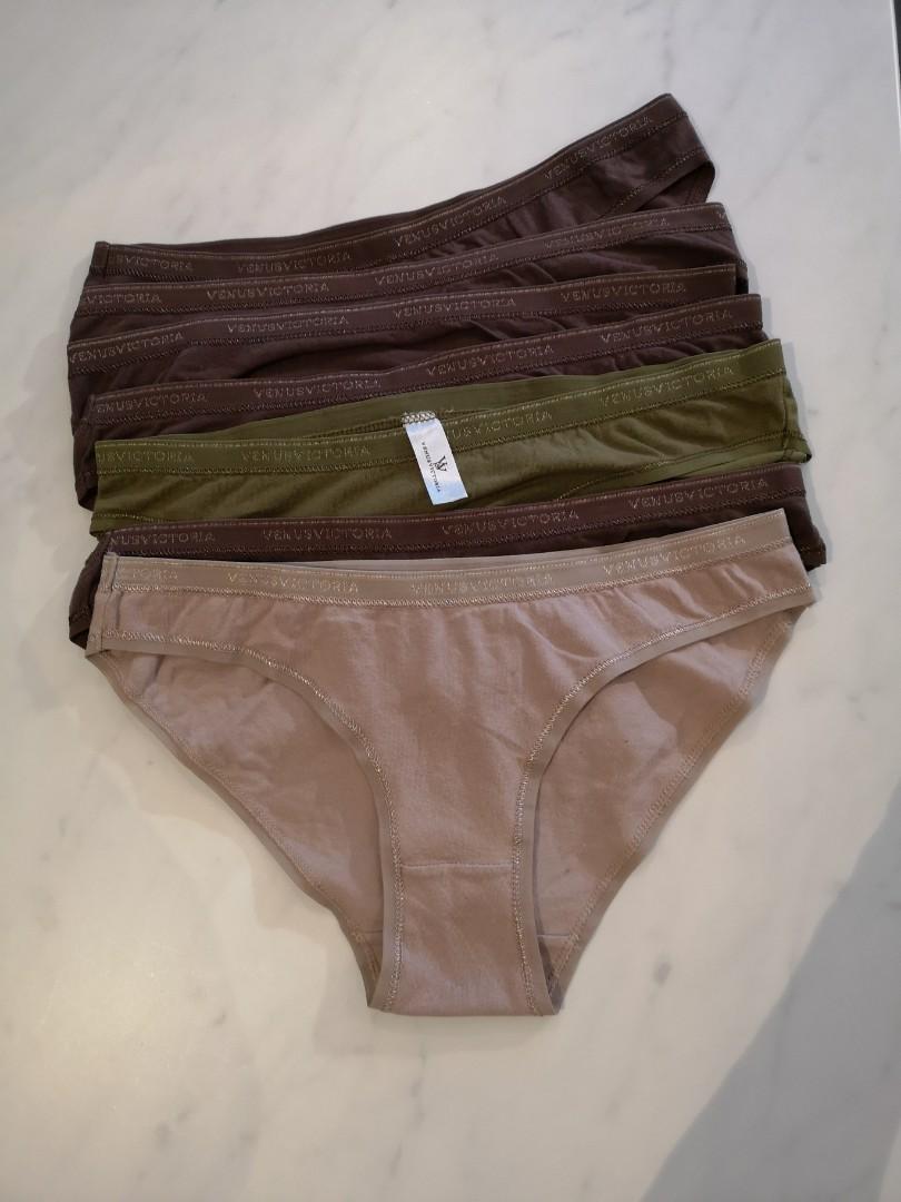 7 Ladies panties, new size 6M
