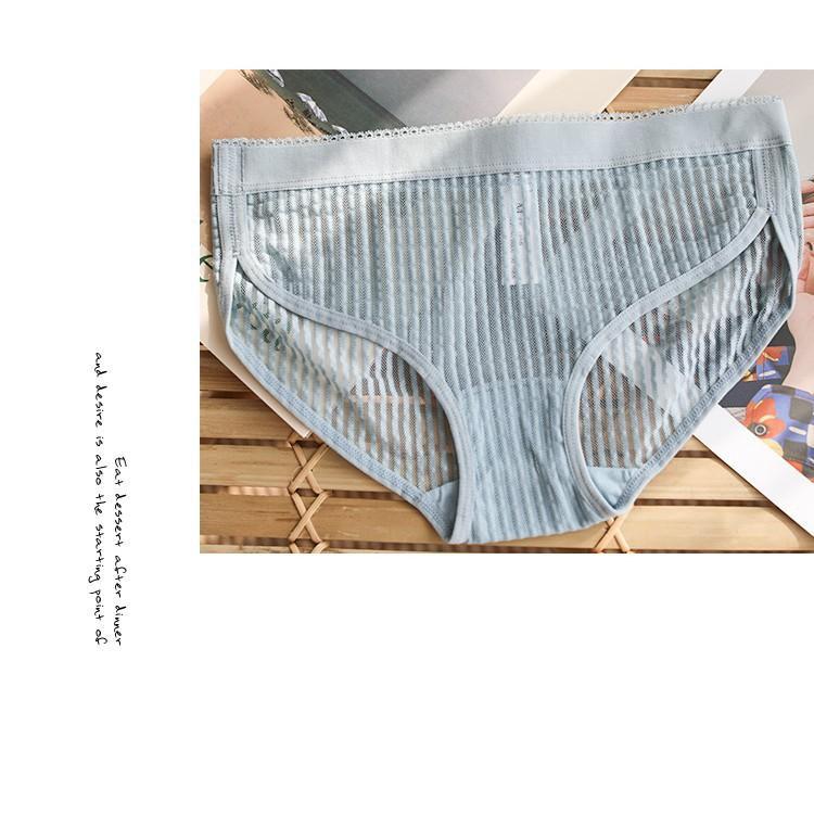 贈送🤗全新中腰三角內褲 淺灰色 藍綠色💕
