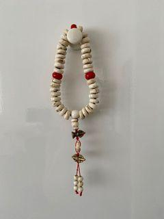 西藏 密宗 真言宗 藏傳 嘎巴拉 手珠 佛珠 神聖 法器 嘎巴拉念珠