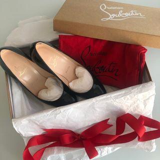 Christian Louboutin Black Heels (gently worn)