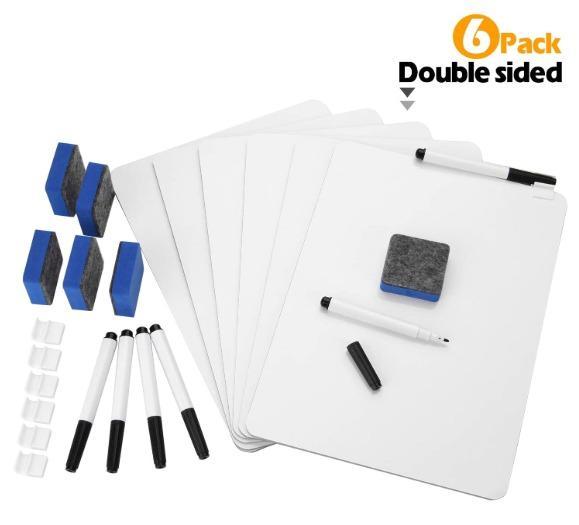 Double-Sided Whiteboard Set