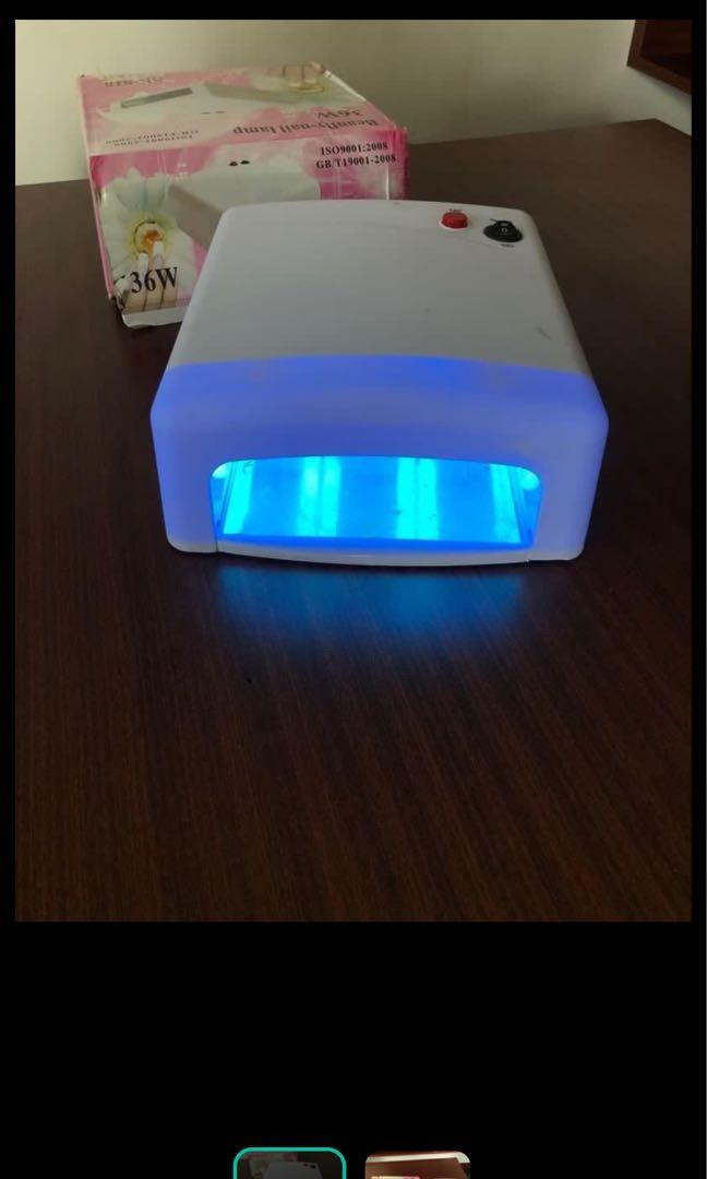 Nail gel lamp UV