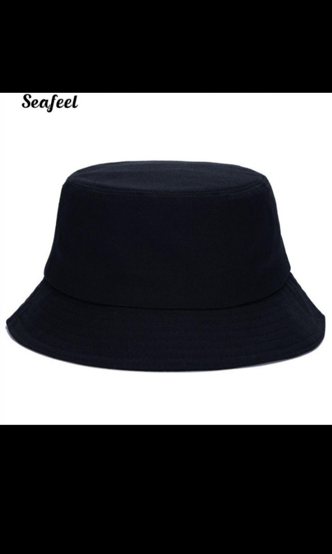 Po Plain Bucket Hat Women S Fashion Accessories Caps Hats On Carousell