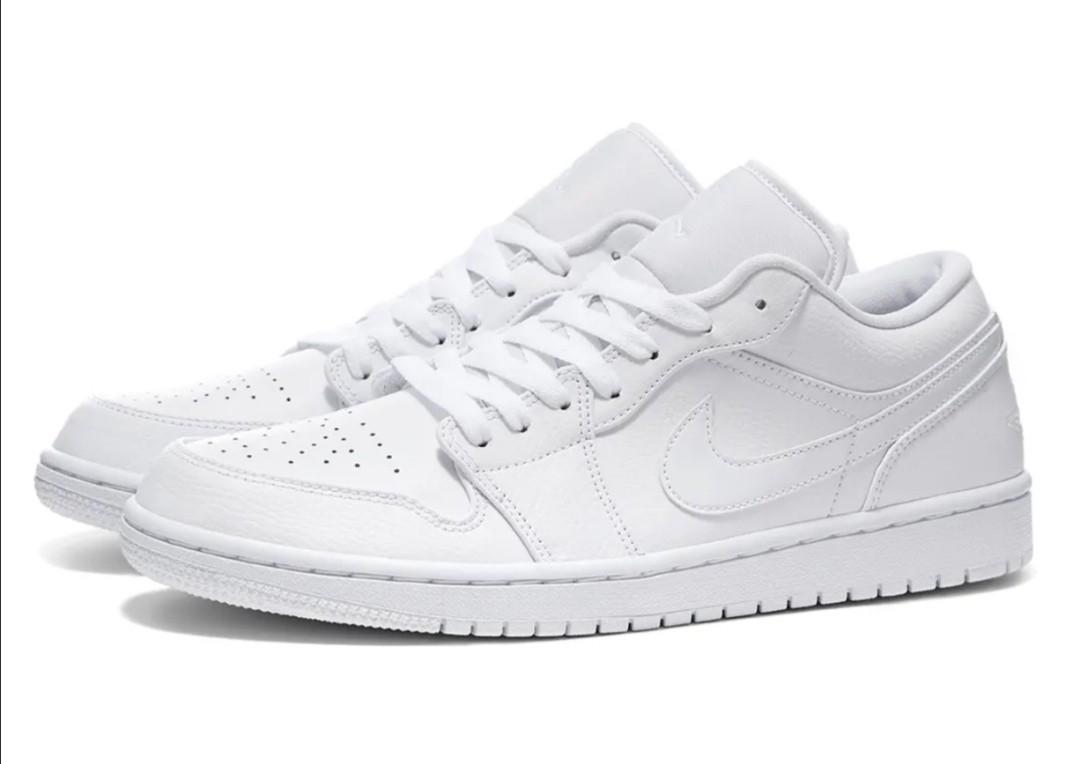 Pre order Air Jordan 1 Low Triple White