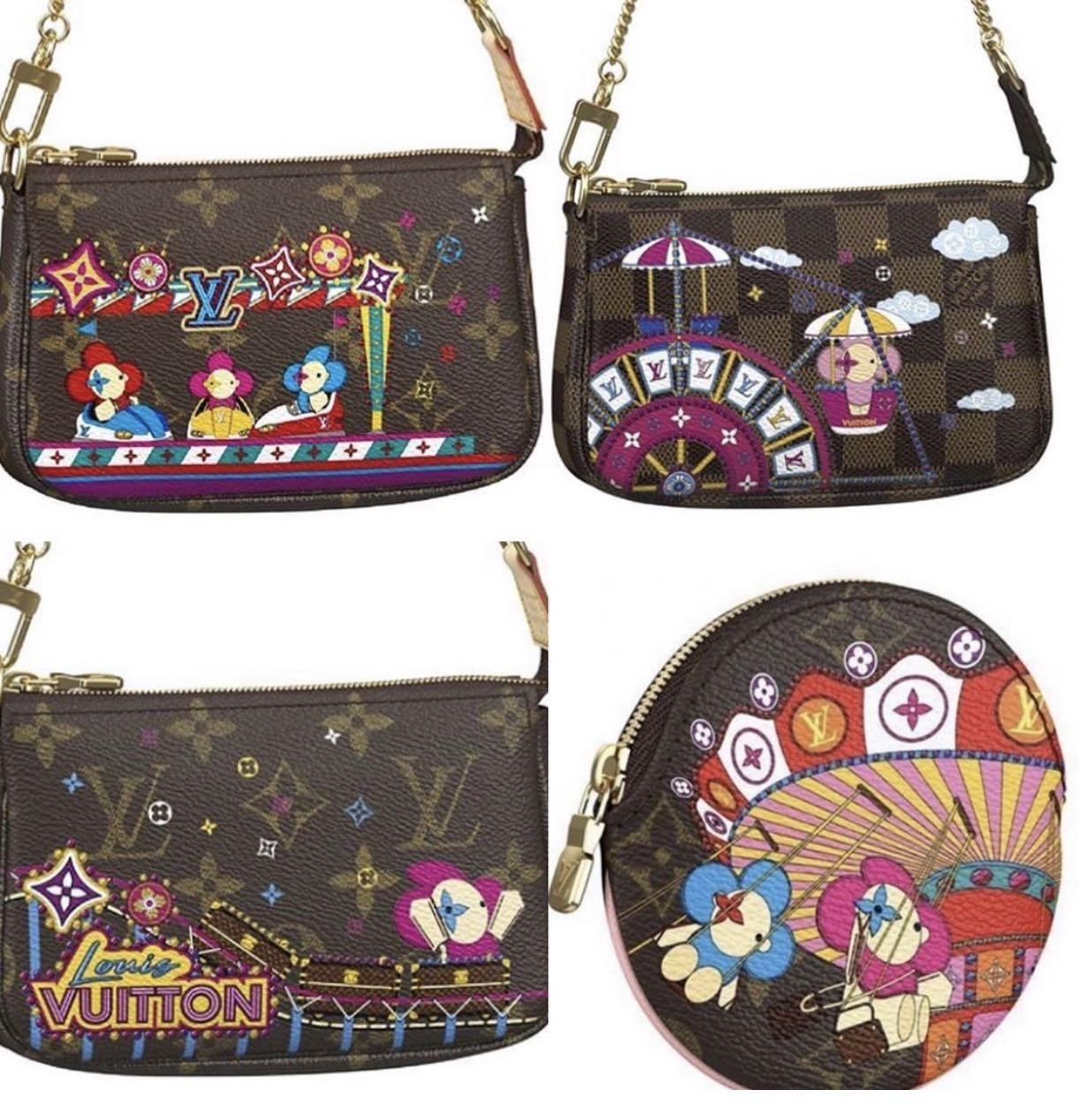 Louis Vuitton Christmas Animation 2020 💕Preorder Louis Vuitton Christmas Animation Mini Pochette 2020