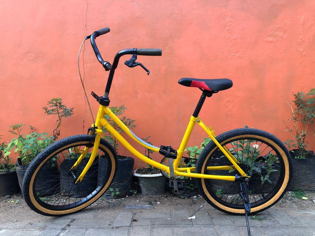 Sepeda Minion Olah Raga Sepeda Di Carousell