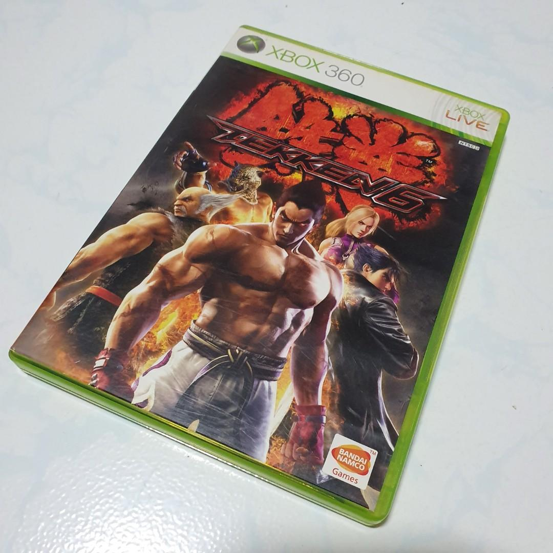 Tekken 6 Xbox 360 Toys Games Video Gaming Video Games On