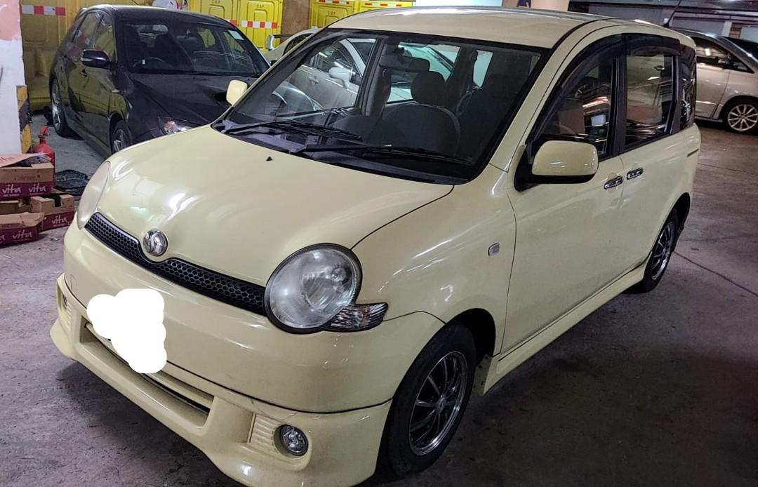 Toyota 2006 Toyota SIENTA X 2006 Toyota SIENTA X Auto