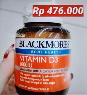 Vitamin D3 1000IU BlackMores Singapure