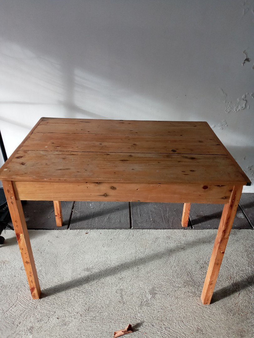 Wooden Table For Sale Home Furniture Furniture Fixtures Tables Chairs On Carousell
