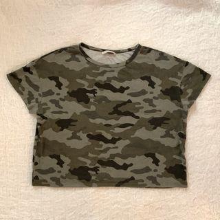 Zara Camo T-Shirt