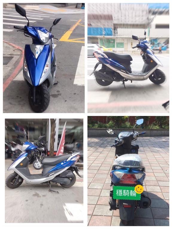 【輪騎穩】2011 三陽 SYM GT 125 可分期/試乘 ( 雷霆 勁戰 Force BWS )