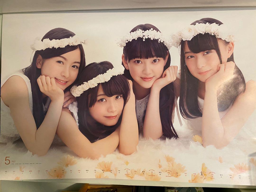 乃木坂46 堀未央奈 深川麻衣 年歷 poster