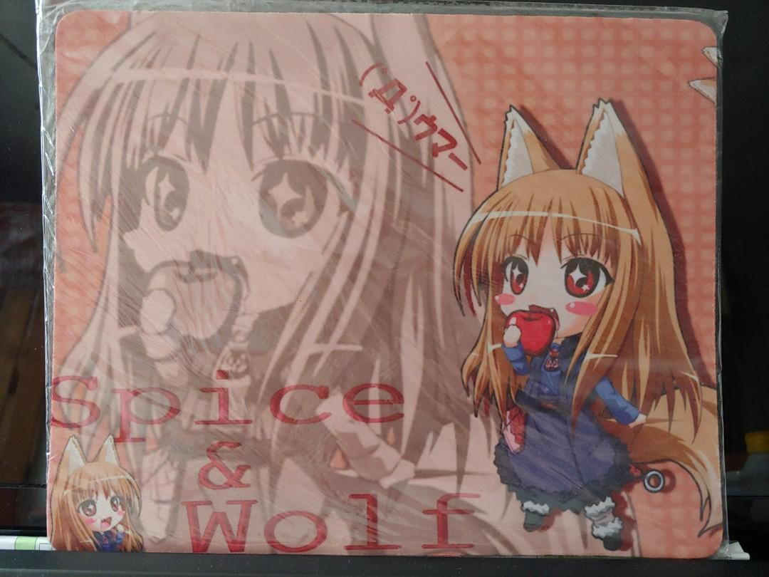 狼與辛香料 Spice and Wolf 滑鼠墊 Mousepad $38