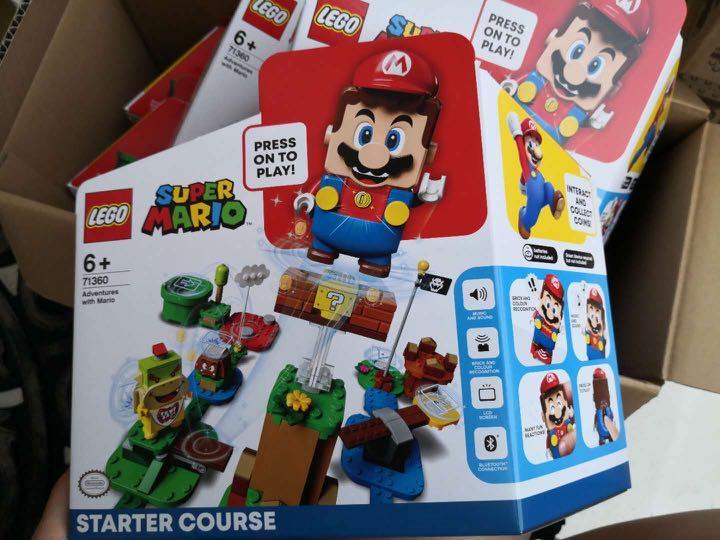 樂高X任天堂 超級瑪利歐 入門套裝 (71360)nintendo super mario 樂高lego