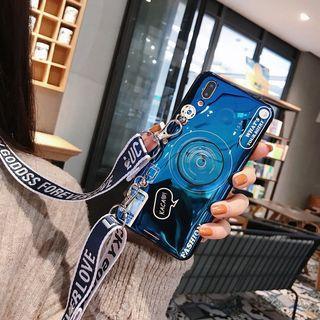 全新轉售 相機造型 oppoReno2手機殼 Reno2 硅膠 藍光I防摔 附斜挎繩 Reno2防摔保護殼