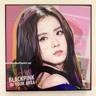 BLACKPINK Jisoo PopArt! Portrait Pop Art