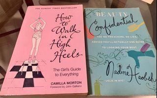 Bundled Preloved Books (On Beauty)