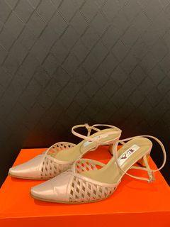 EA粉色涼鞋25cm