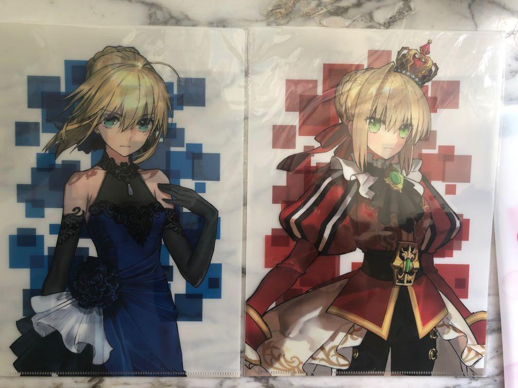 Fate Extra 官方 file saber
