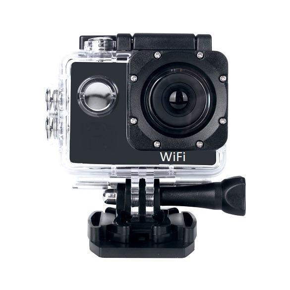 Full HD 1080p WiFi Waterproof Action Sports Camera Bundle w/ Accessories