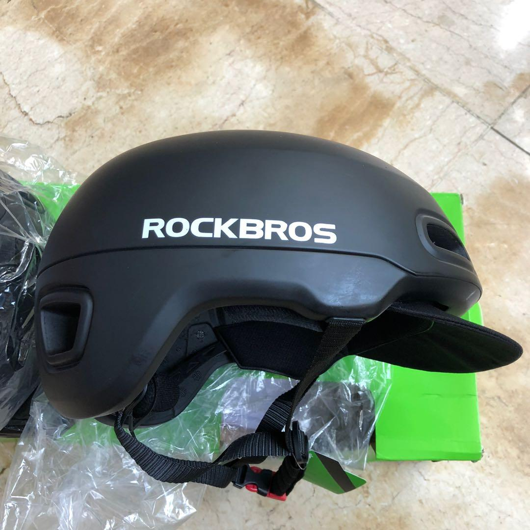 Helm rockbros black new