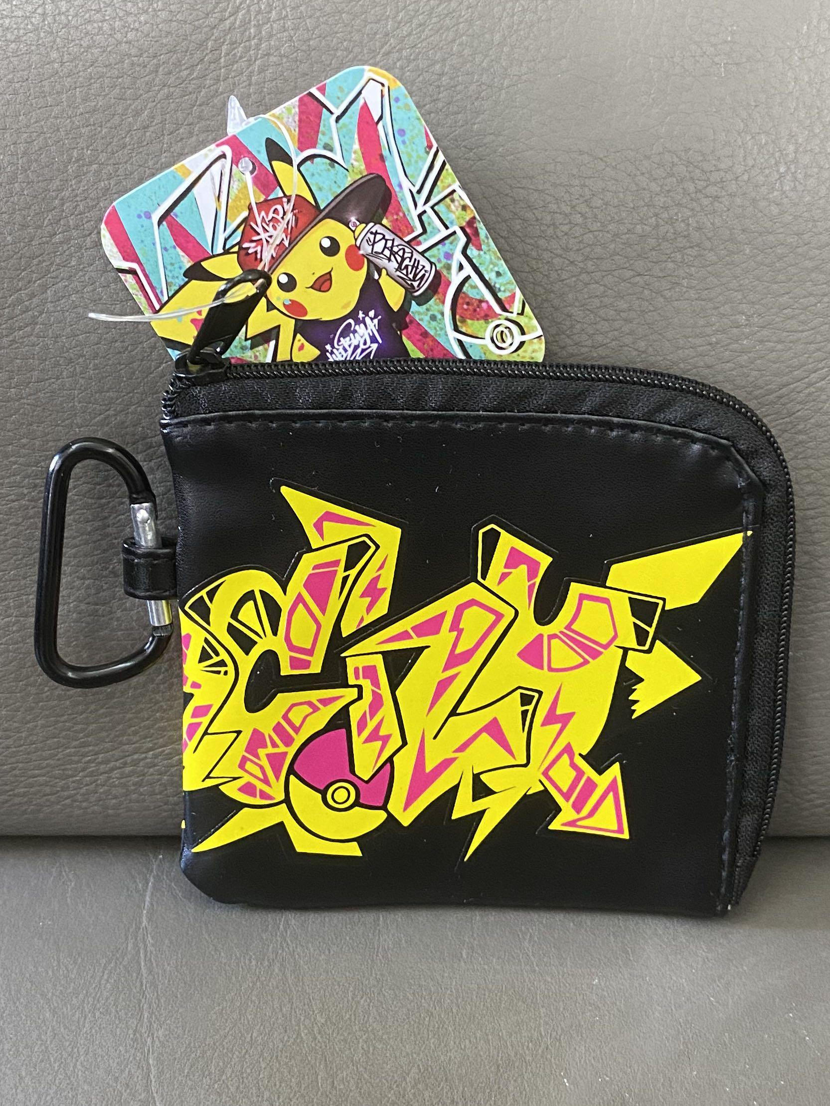 Japan Pokemon Center Shibuya Graffiti Art Limited Wallet 日本 Pokemon Center 渋谷 塗鴉 限定 銀包