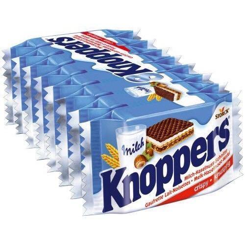 Knoppers 五層榛果牛奶威化餅(十入)