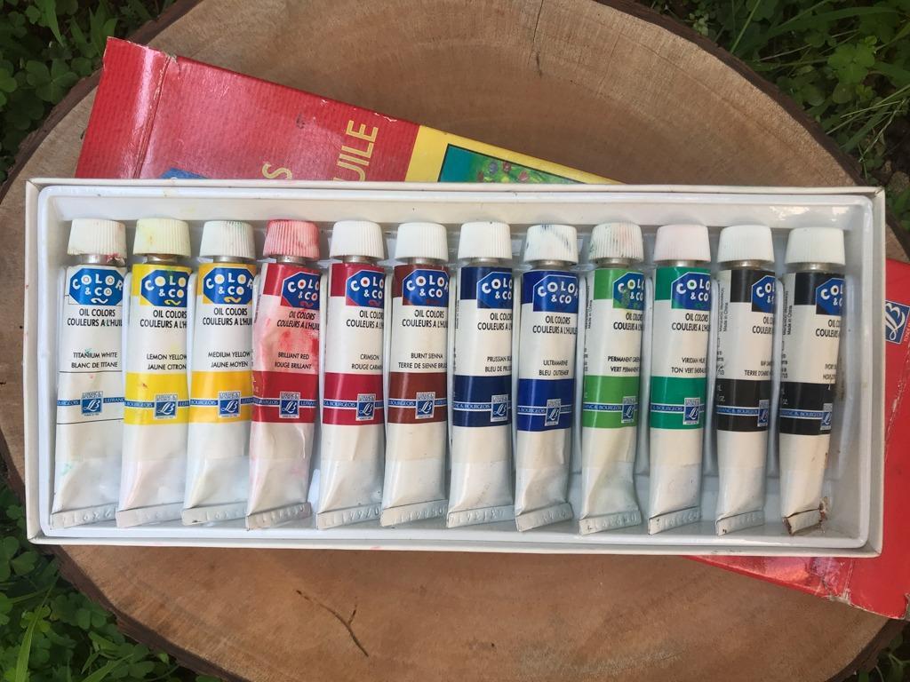 Le Franc Color & Co - Cat Minyak/Oil Color 12x12ml
