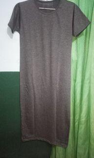 #LebihNyaman Grey Dress