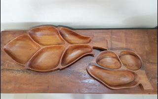 Mid Century Wooden Serving Tray