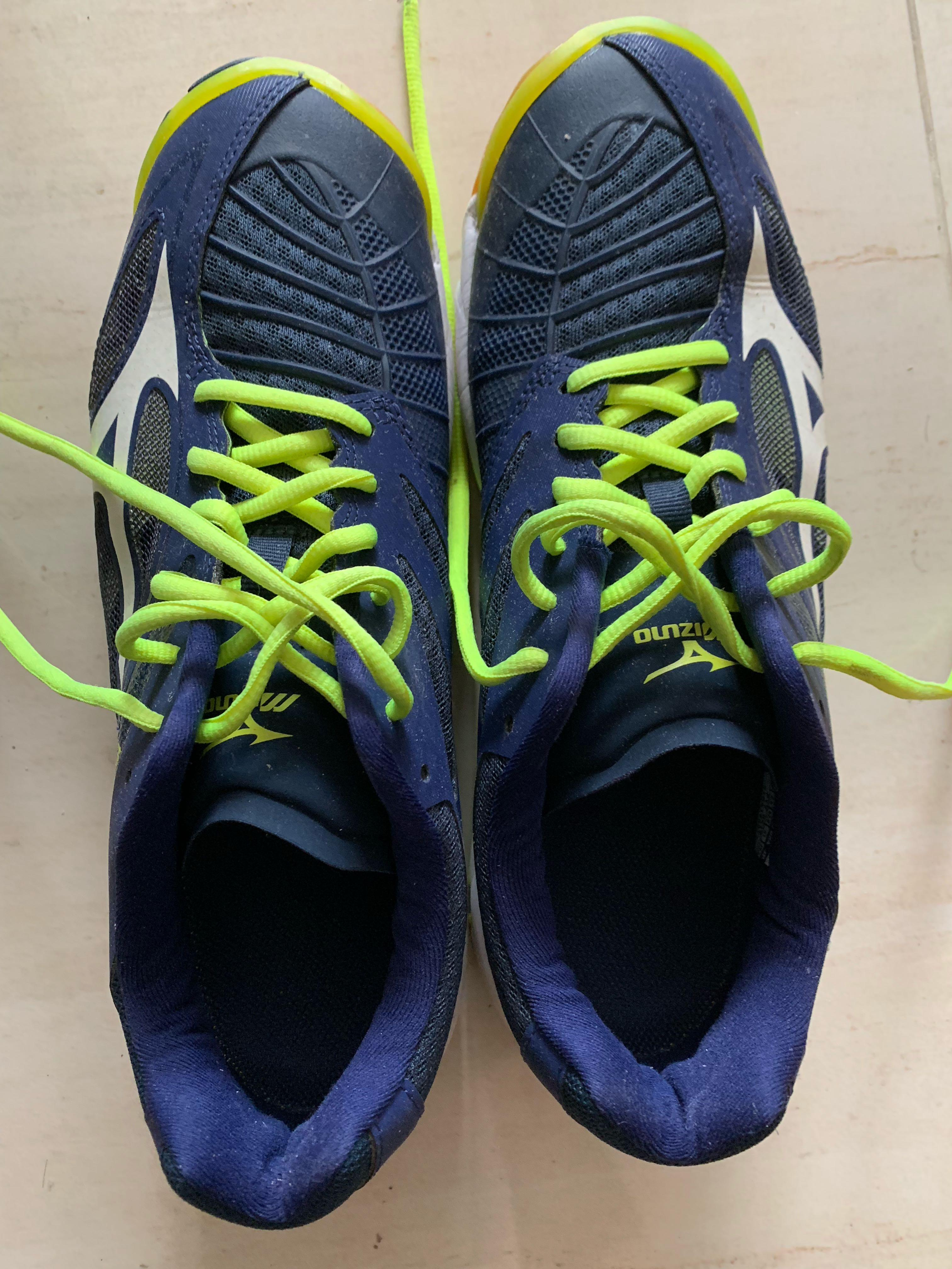mens mizuno running shoes size 9.5 europe homme one years