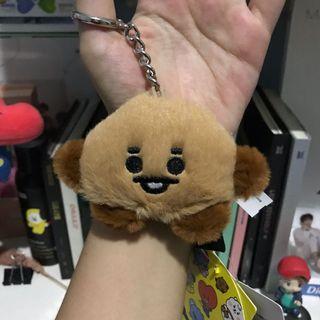 BT2 1 keyring baby fur official shooky bts suga
