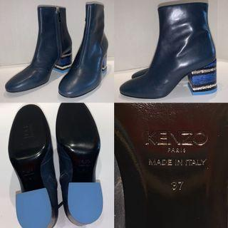 New KENZO Leather Boots