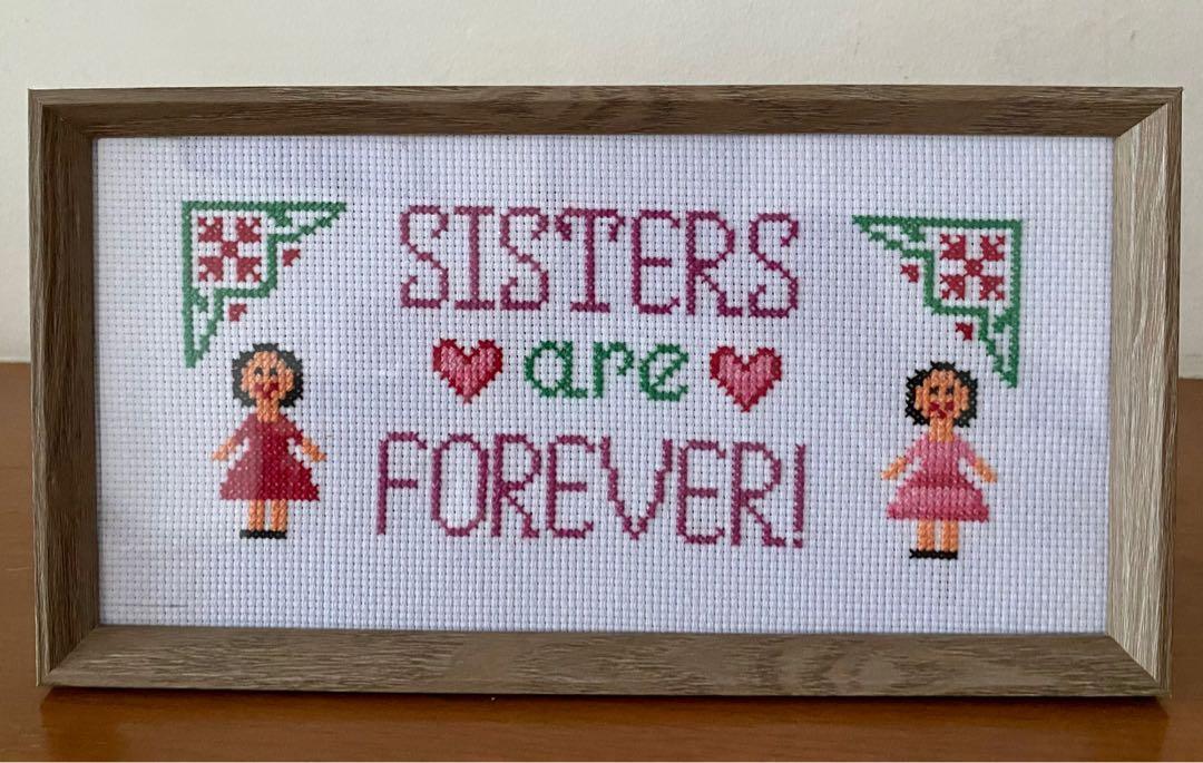 Sisterhood Handmade Frame Design Craft Art Prints On Carousell