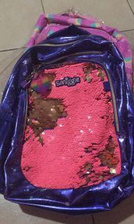 smiggle sequin kids bag